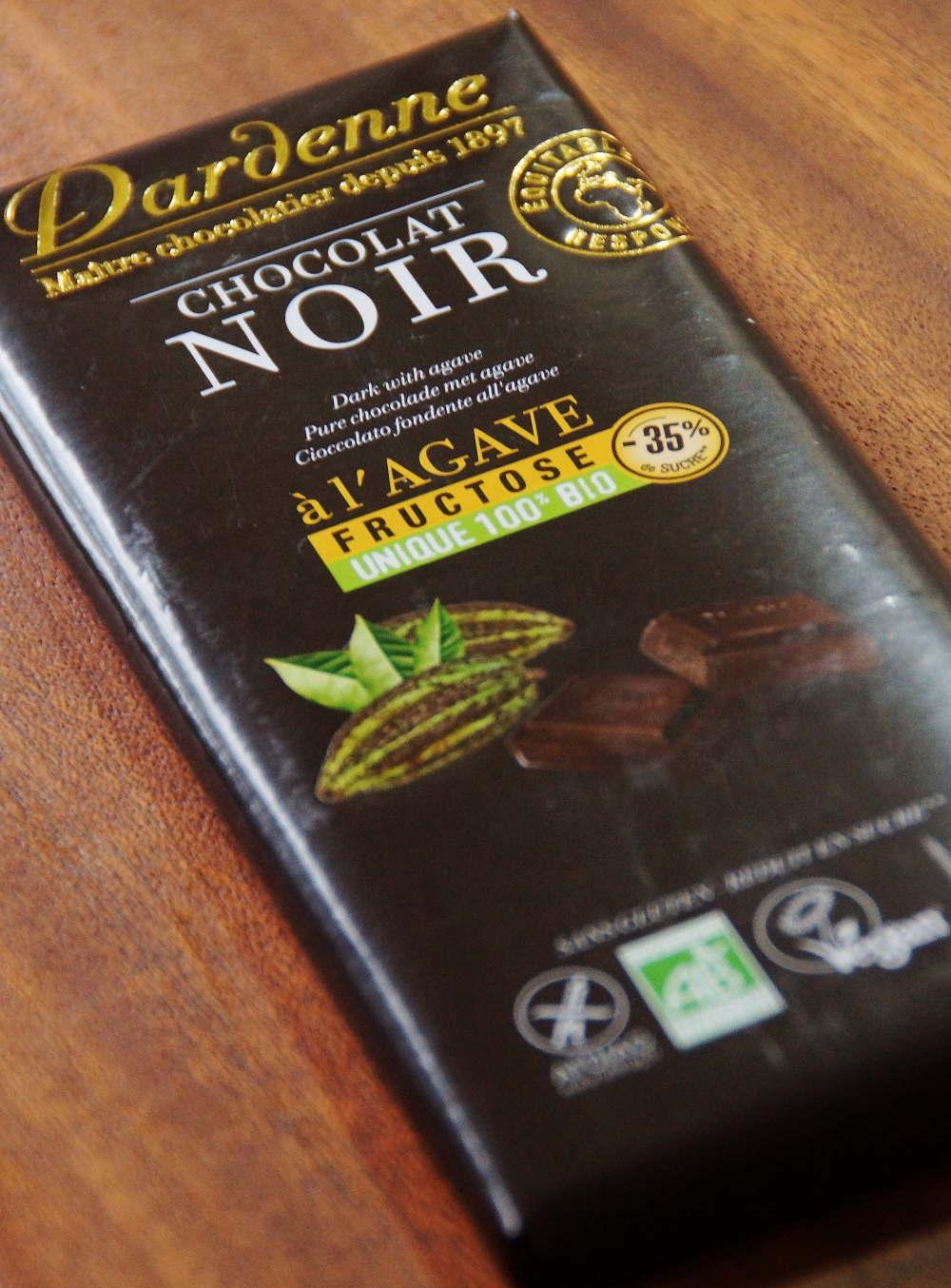 ダーデン 有機アガベチョコレート ダーク