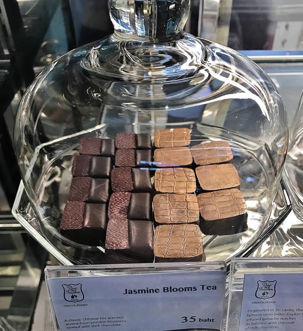 バンコクのチョコレートショップ Duc de Praslin