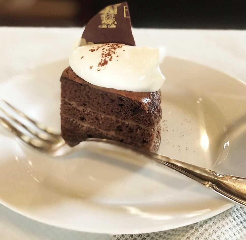 エクチュアで食べたチョコレートケーキ