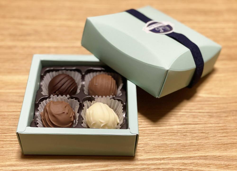 ショコラティエ・エリカのトリュフの種類
