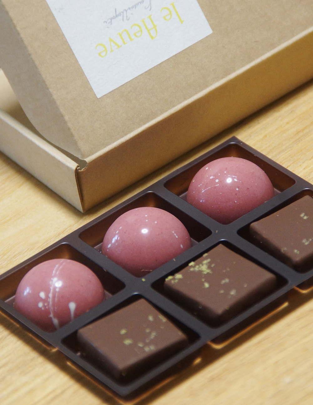 ルビーカカオのショコラ「エタンセル」étincelle