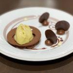 大の日本びいき!「フランソワ・ジメネーズ」真っ赤なグリオットチェリーのチョコが美味しかったです。