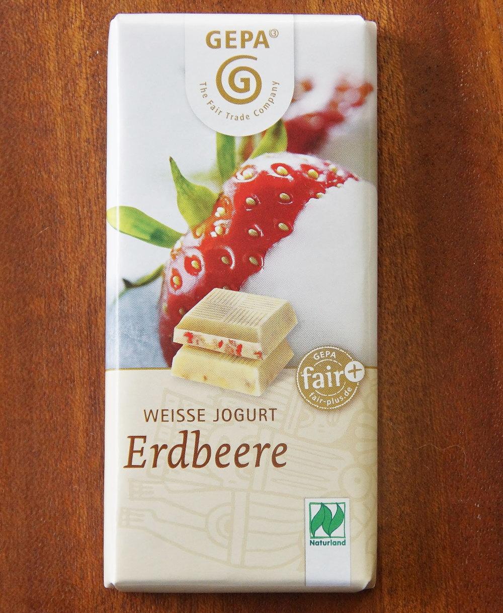 GEPA オーガニック ストロベリー ホワイトチョコレート