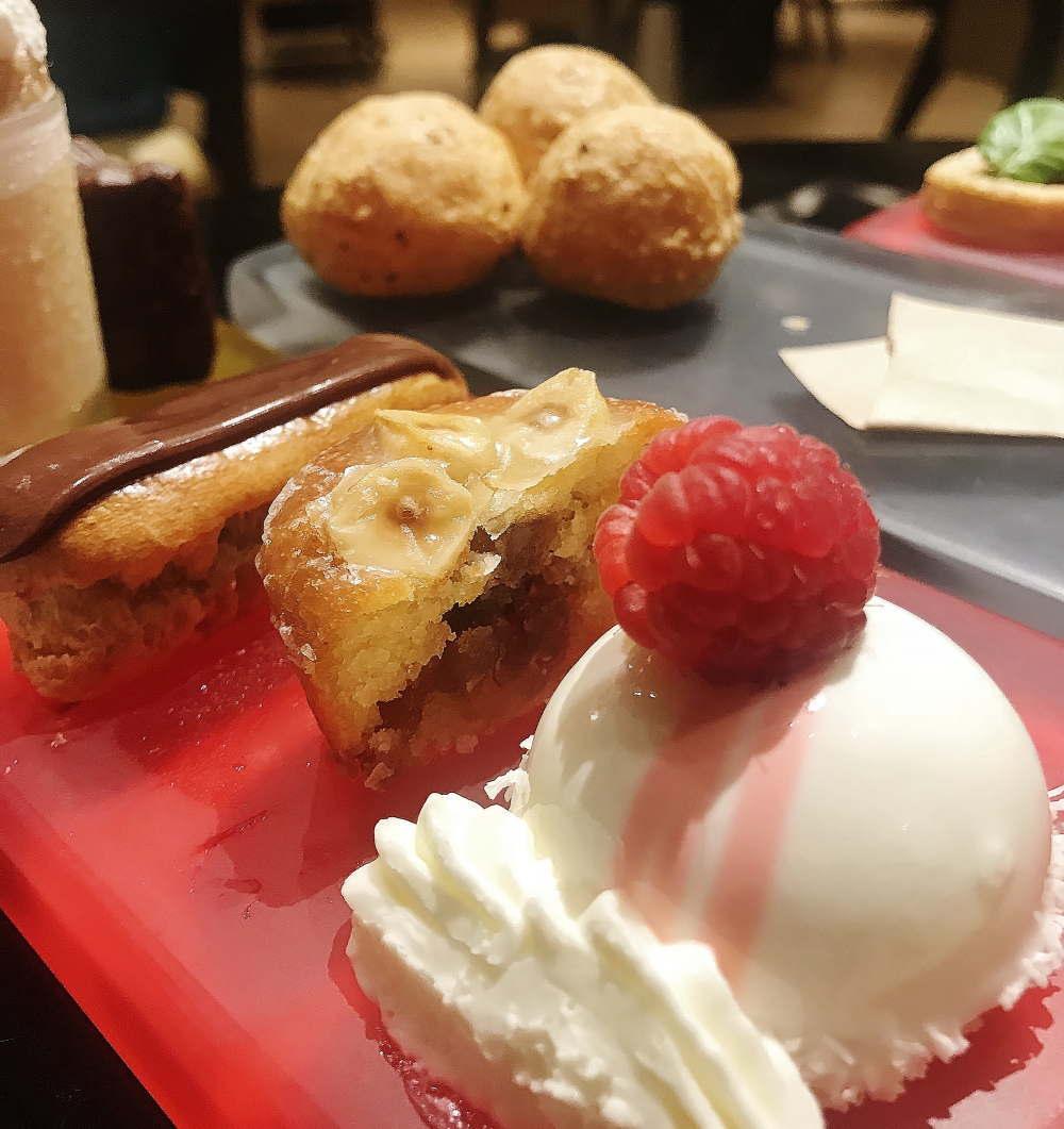 ジルマルシャル ホワイトチョコのドームケーキ