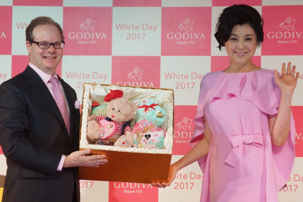 「GODIVA(ゴディバ)」のWhite Day 2017 限定商品発表イベントに参加