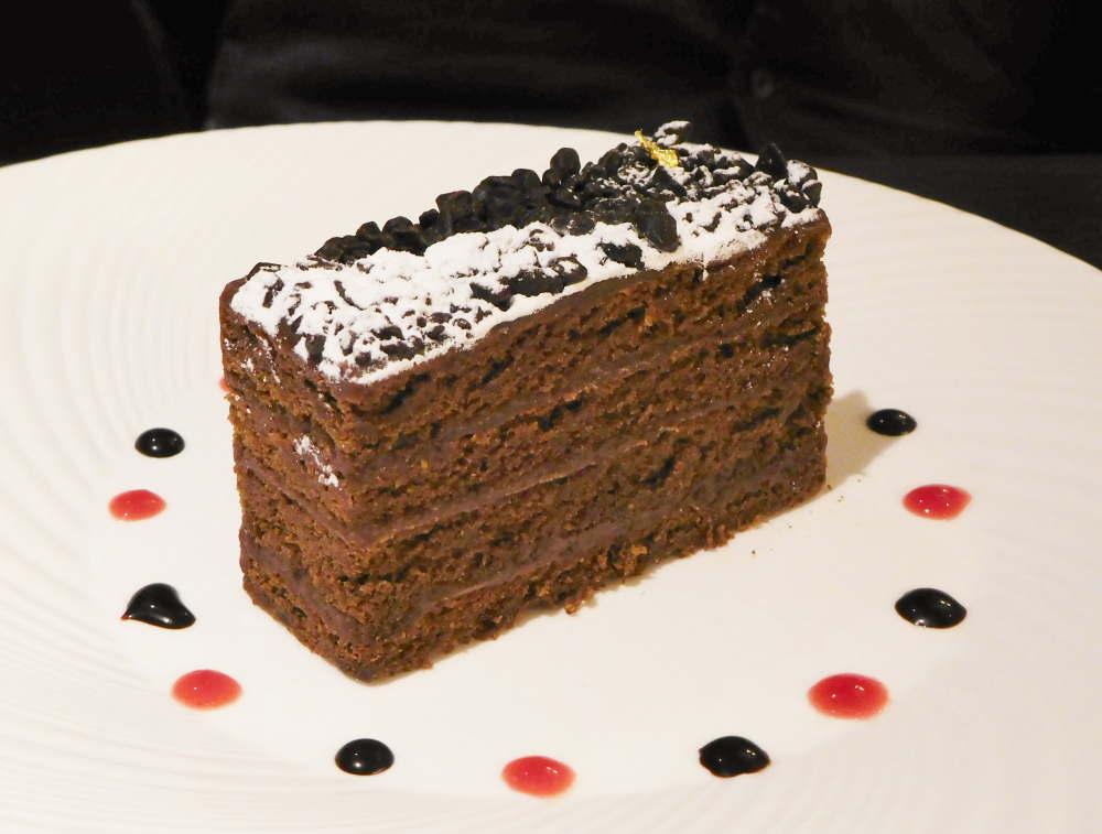 カカオティエゴカン カフェのケーキ