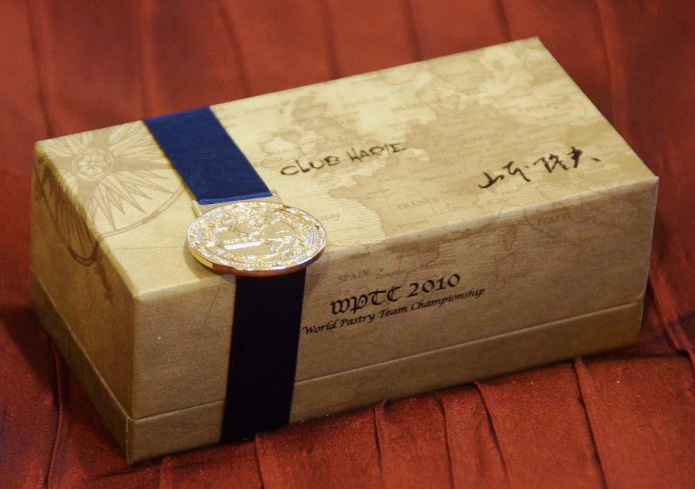 クラブハリエ WPTC2010受賞ショコラ