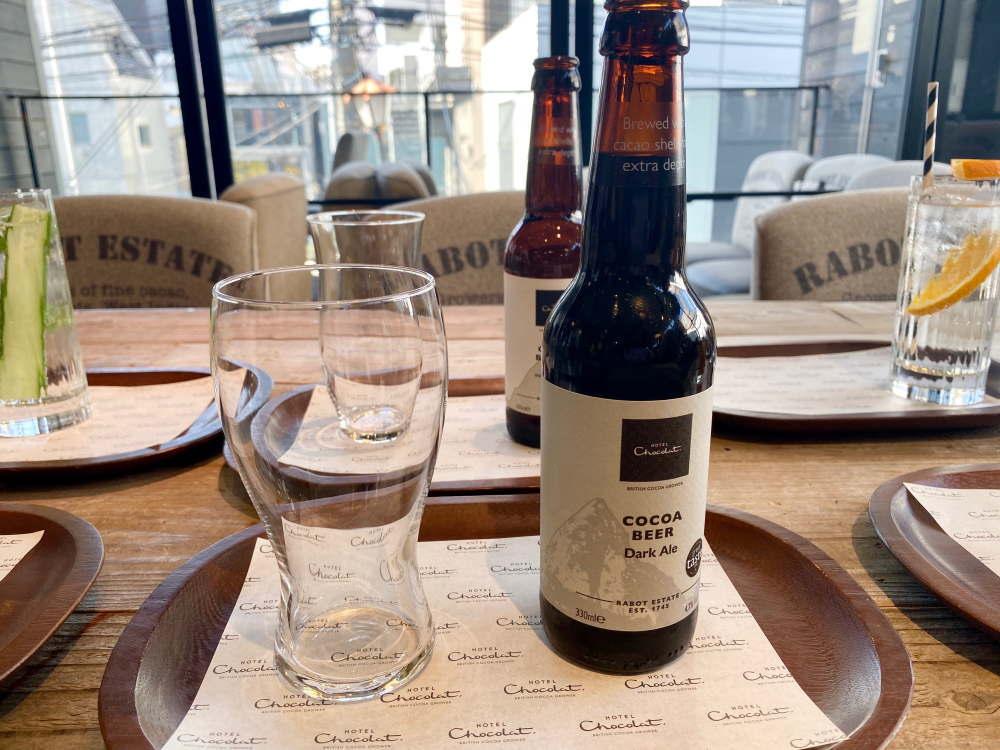 ホテルショコラのビール