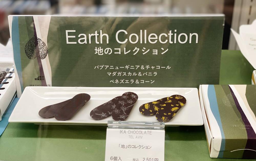 地のコレクション