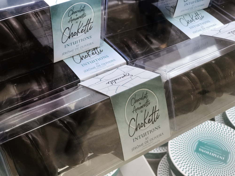 チョコレートのアマレッティ