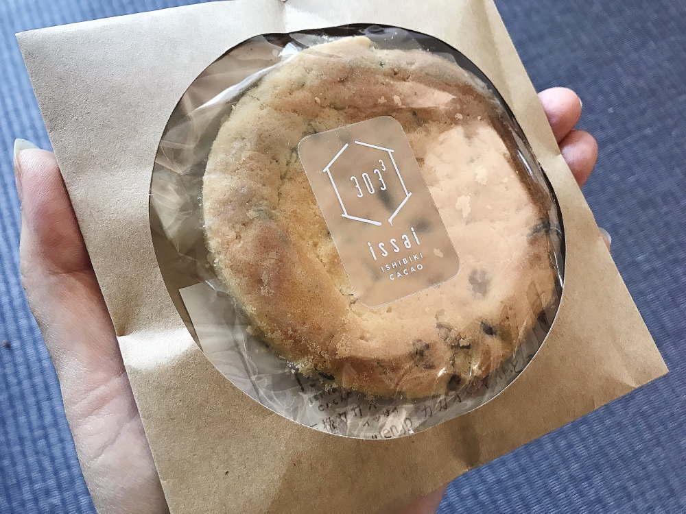 カカオニブ入りクッキー