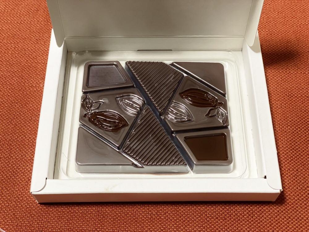 ジャラクコーヒー&カカオの板チョコ(タブレット)