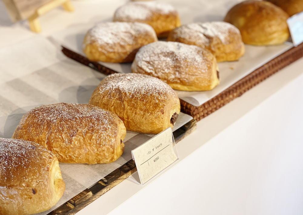 ジャラクコーヒー&カカオ テイクアウトのパン