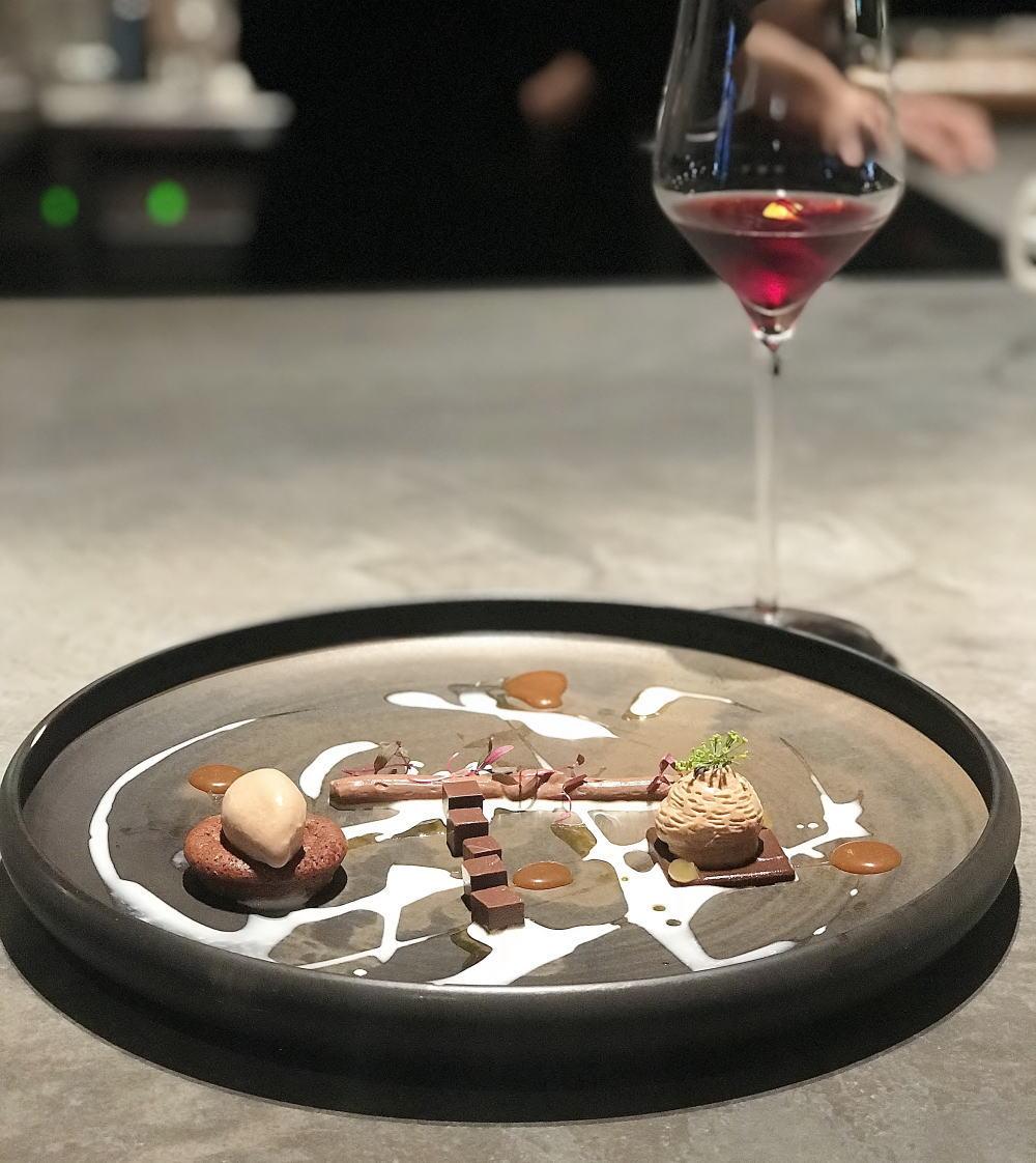 5テイストチョコレート(ジェニスウォンアシェットデセール)