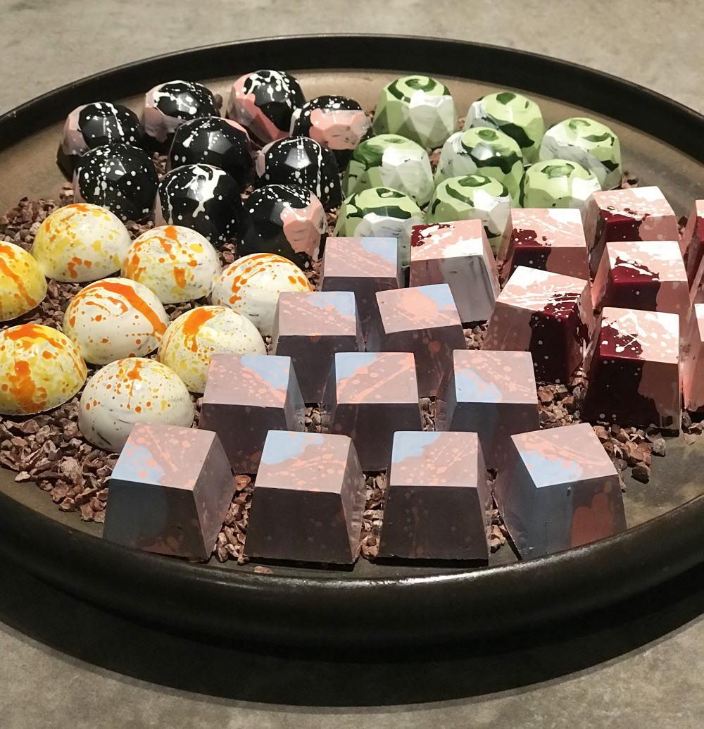 ジャニスウォンのボンボンショコラ 種類