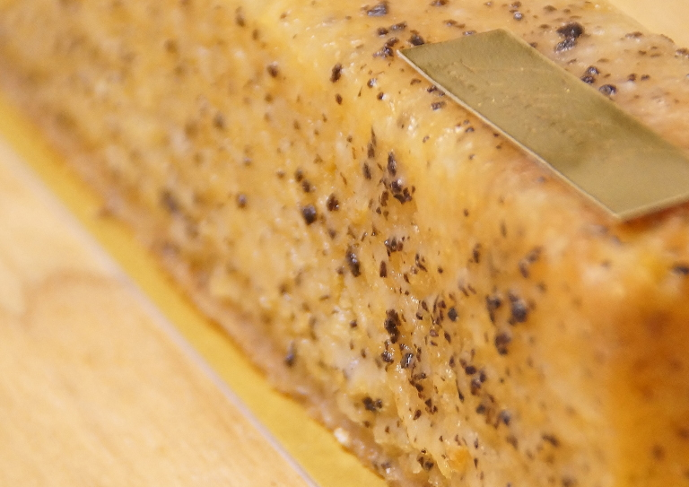 Cake aux truffes noire carbados(ケイク オ トリュフ ノワール カルヴァドス)