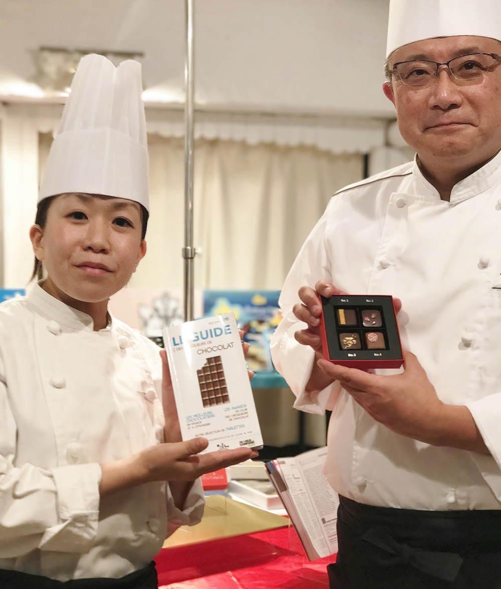 大石茂之さんと「トーキョーチョコレート」
