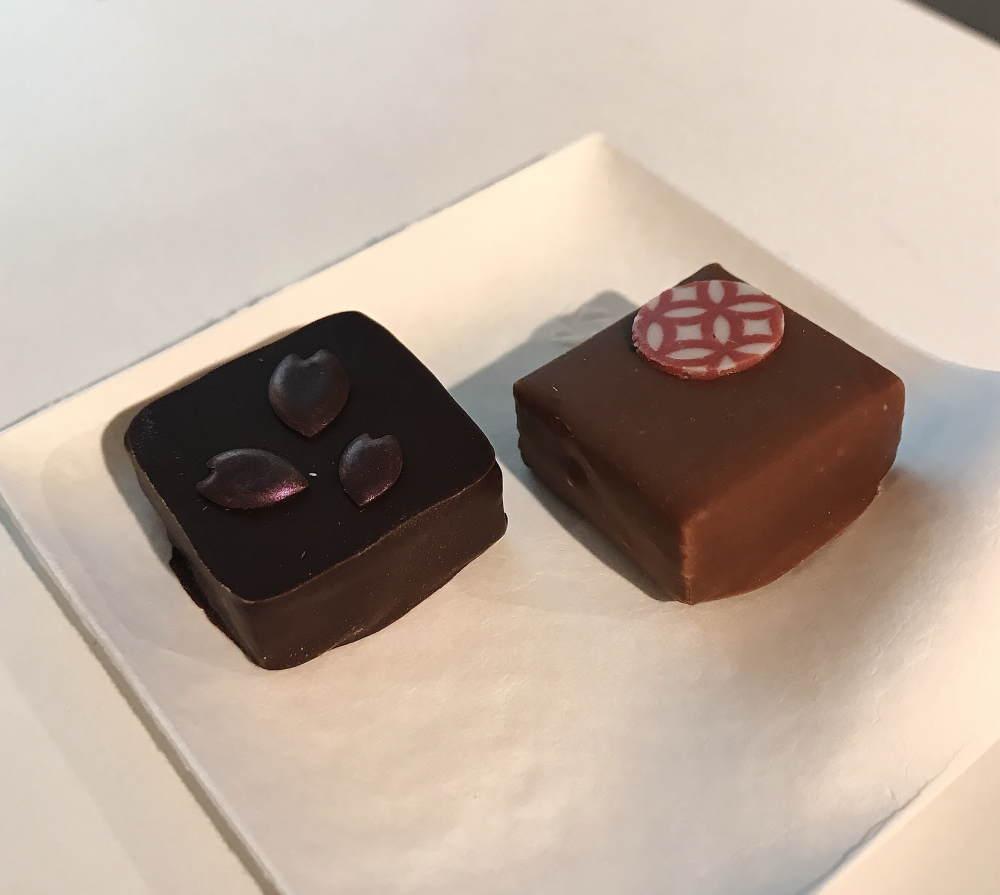 トーキョーチョコレート プレミアムセレクションボックス 桜 和のプラリネを試食