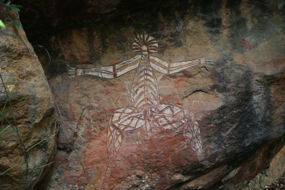 アボリジニの壁画