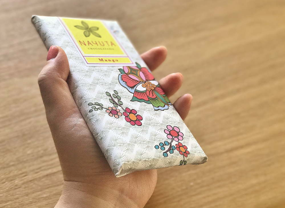 ナユタ チョコラタジア マンゴー板チョコ