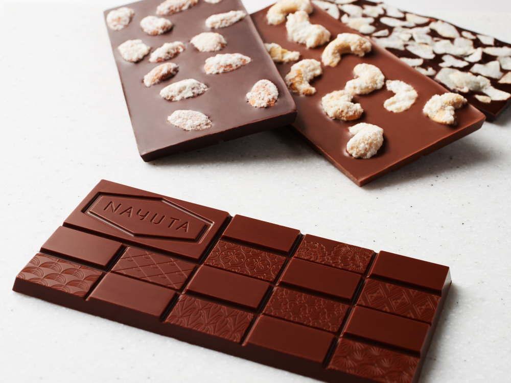 ナユタ チョコラタジア 板チョコ全種類