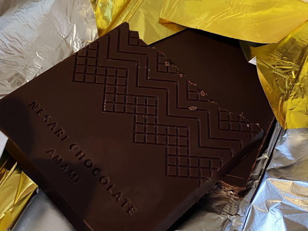 ネサリチョコレート タブレットの中身