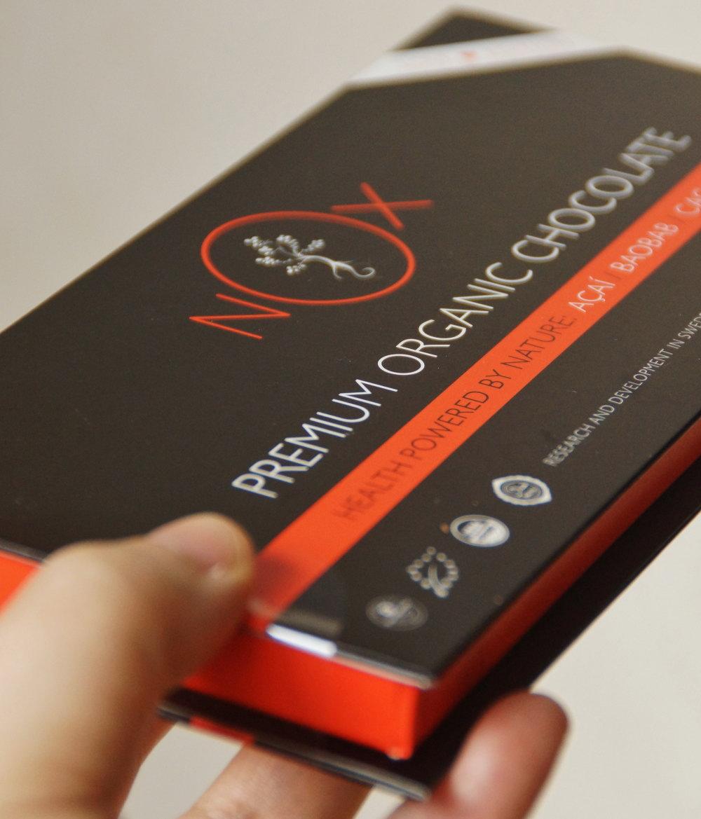 NOXプレミアムオーガニックチョコレート