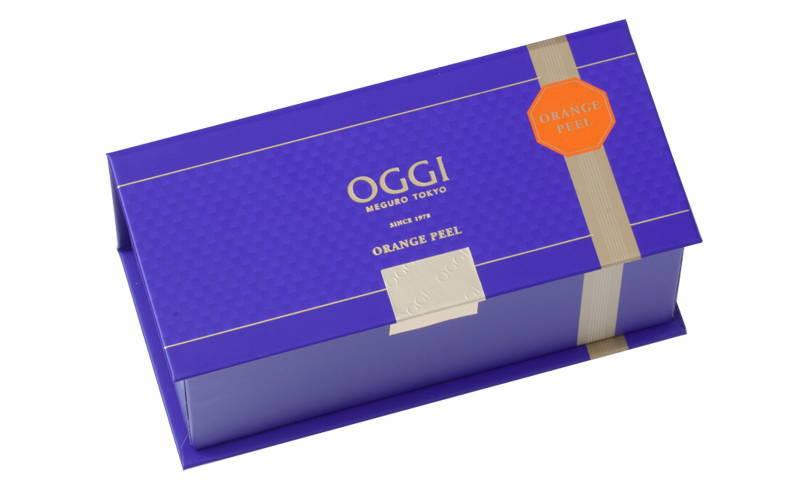 OGGI オッジのオレンジピール パッケージリニューアル