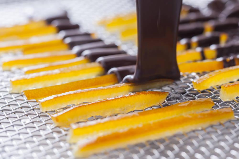 OGGI オッジのオレンジピール 調理途中