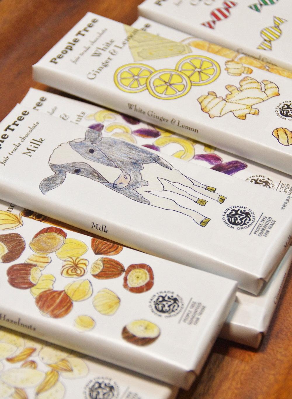ピープルツリー チョコレート 種類