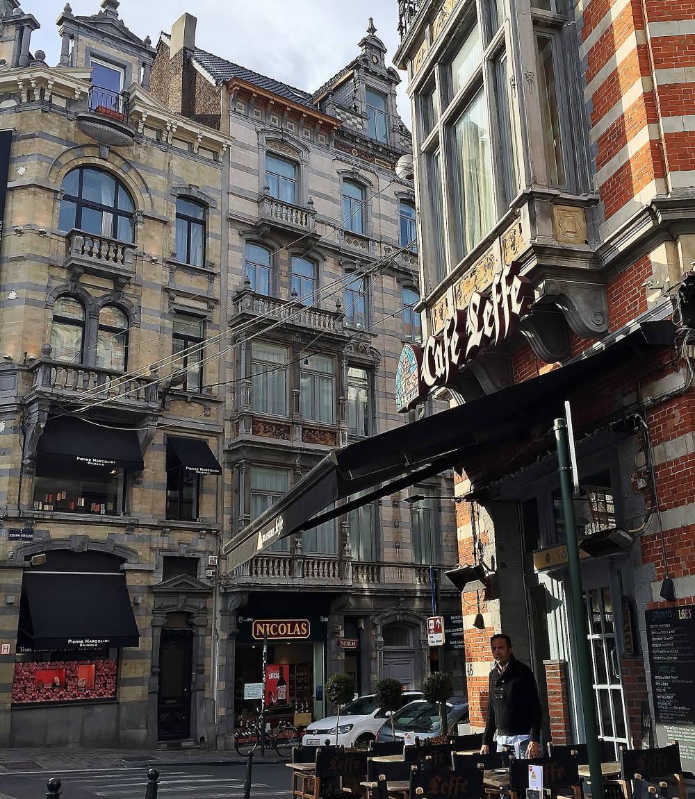 ピエールマルコリーニ 本店 ベルギー グランサブロン広場