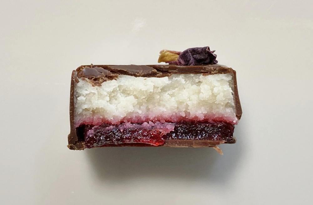ボンボンショコラ フルールの断面