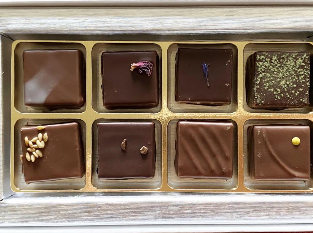 プレスキル・ショコラトリーのマリアージュショコラ
