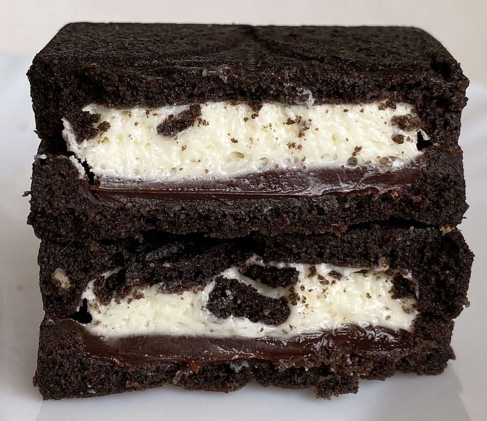 プレスバターサンド チョコレート味 中身