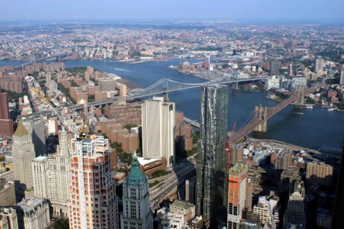 ブルックリンの景色