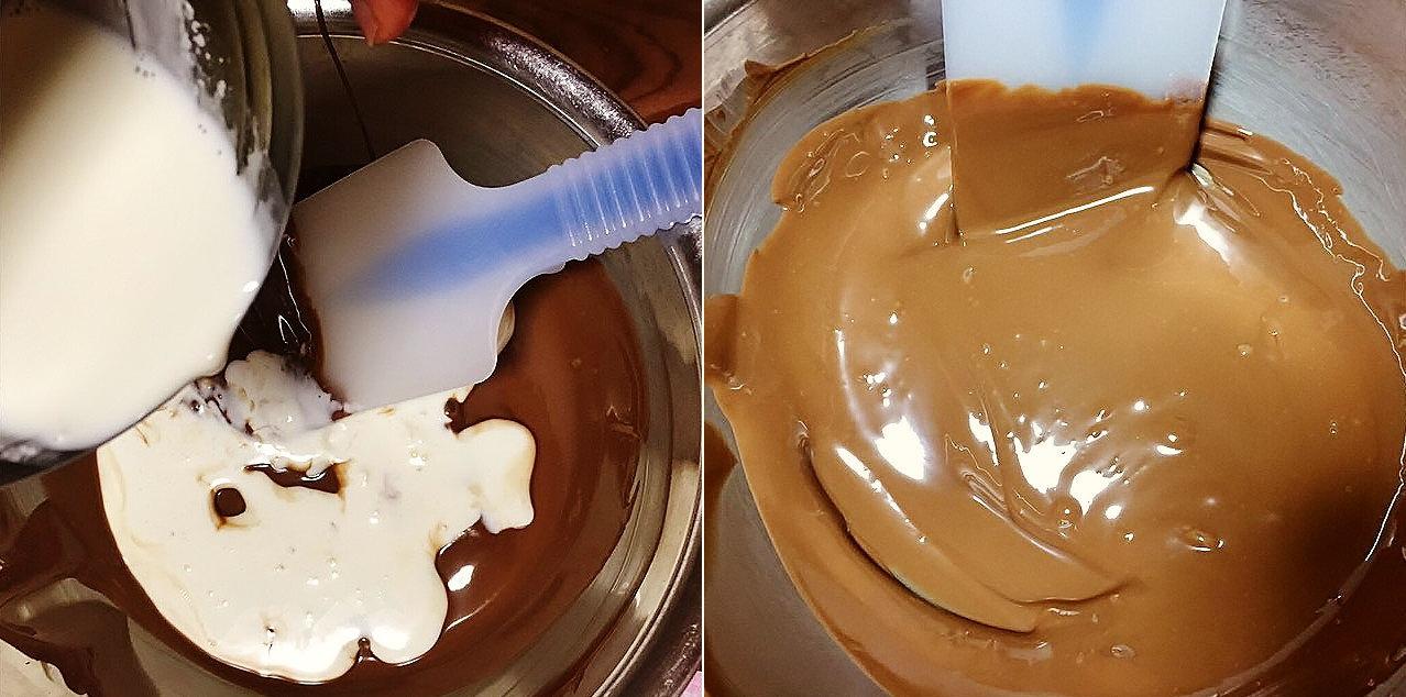 板チョコ 湯せん