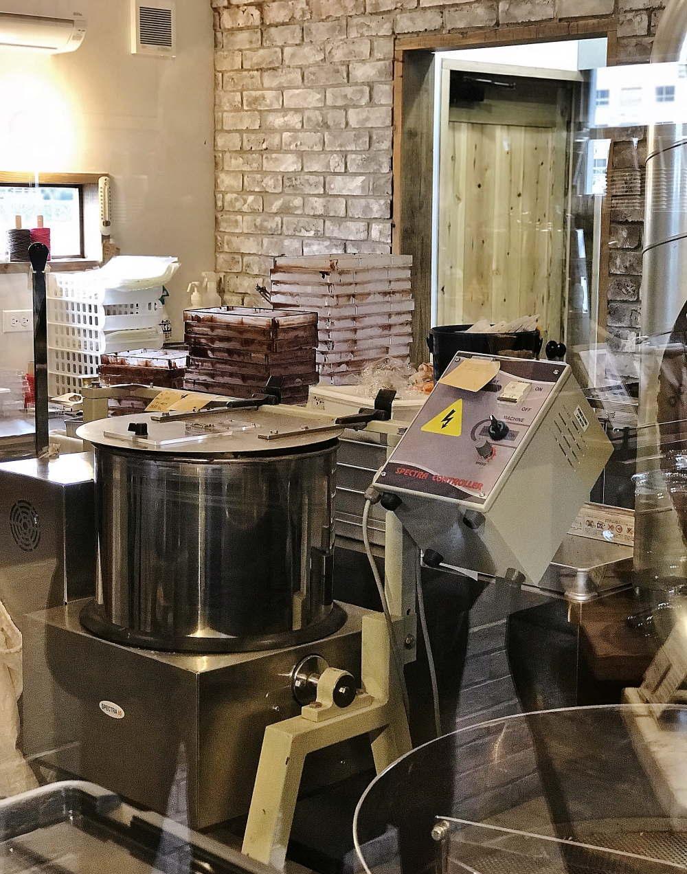 リタルダンドのチョコレート工房