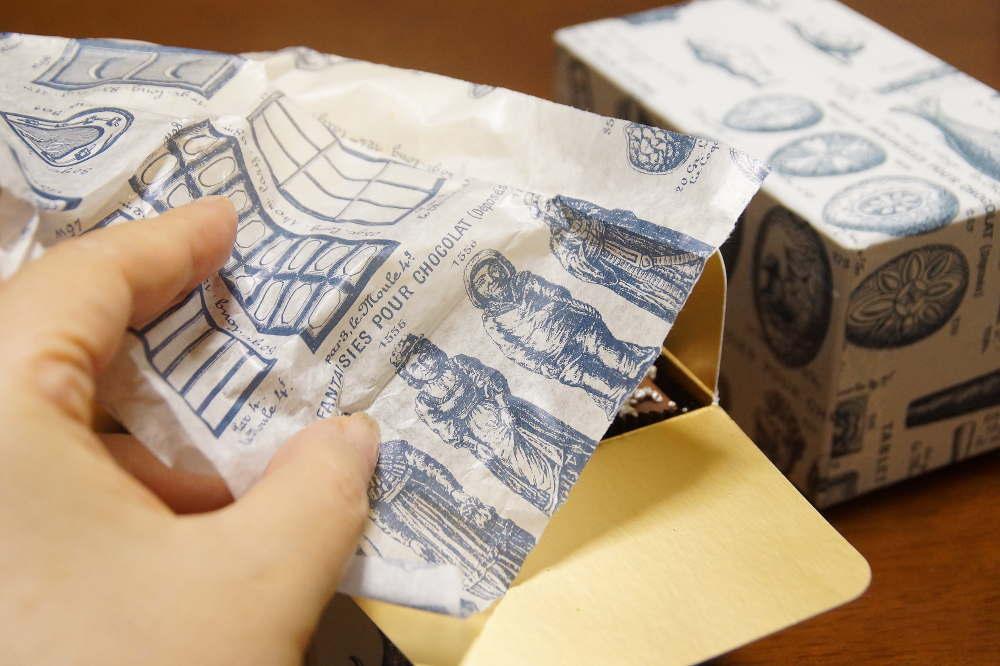ロココチョコレートの可愛いパッケージ