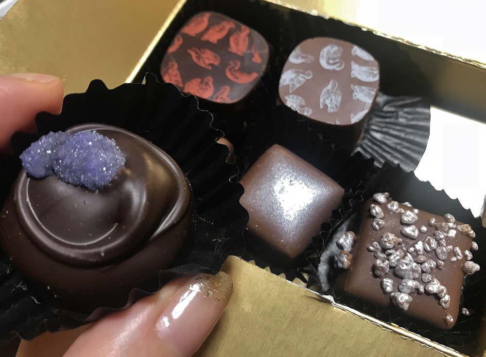 ロココチョコレート ラベンダーのチョコ