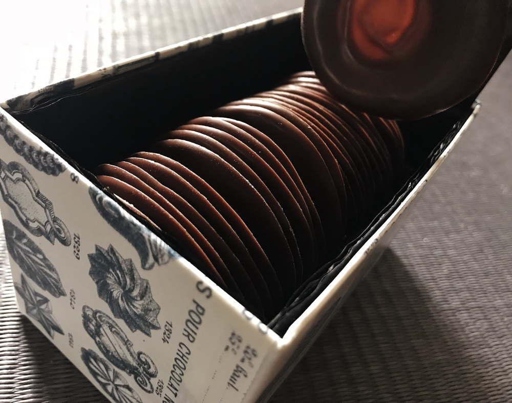 Sea Salt Organic Milk Chocolate Wafer Thins