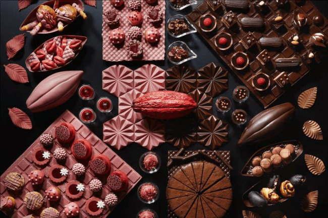 ANAインターコンチネンタルホテル ルビーチョコレートコレート