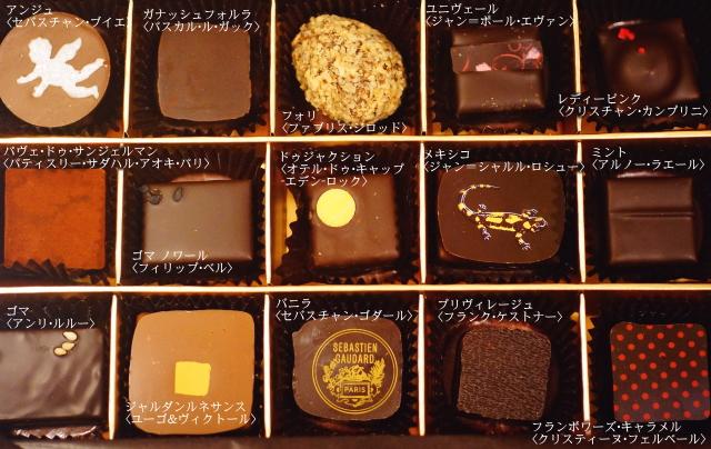 サロンデュショコラ セレクションボックス