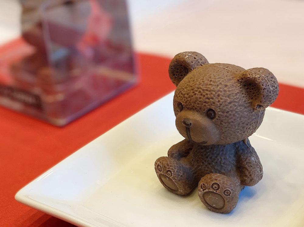カカオサンパカの小さい熊