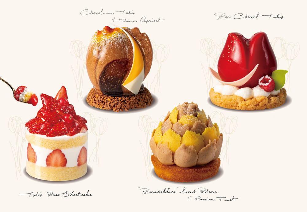 TOKYOチューリップローズの生ケーキ