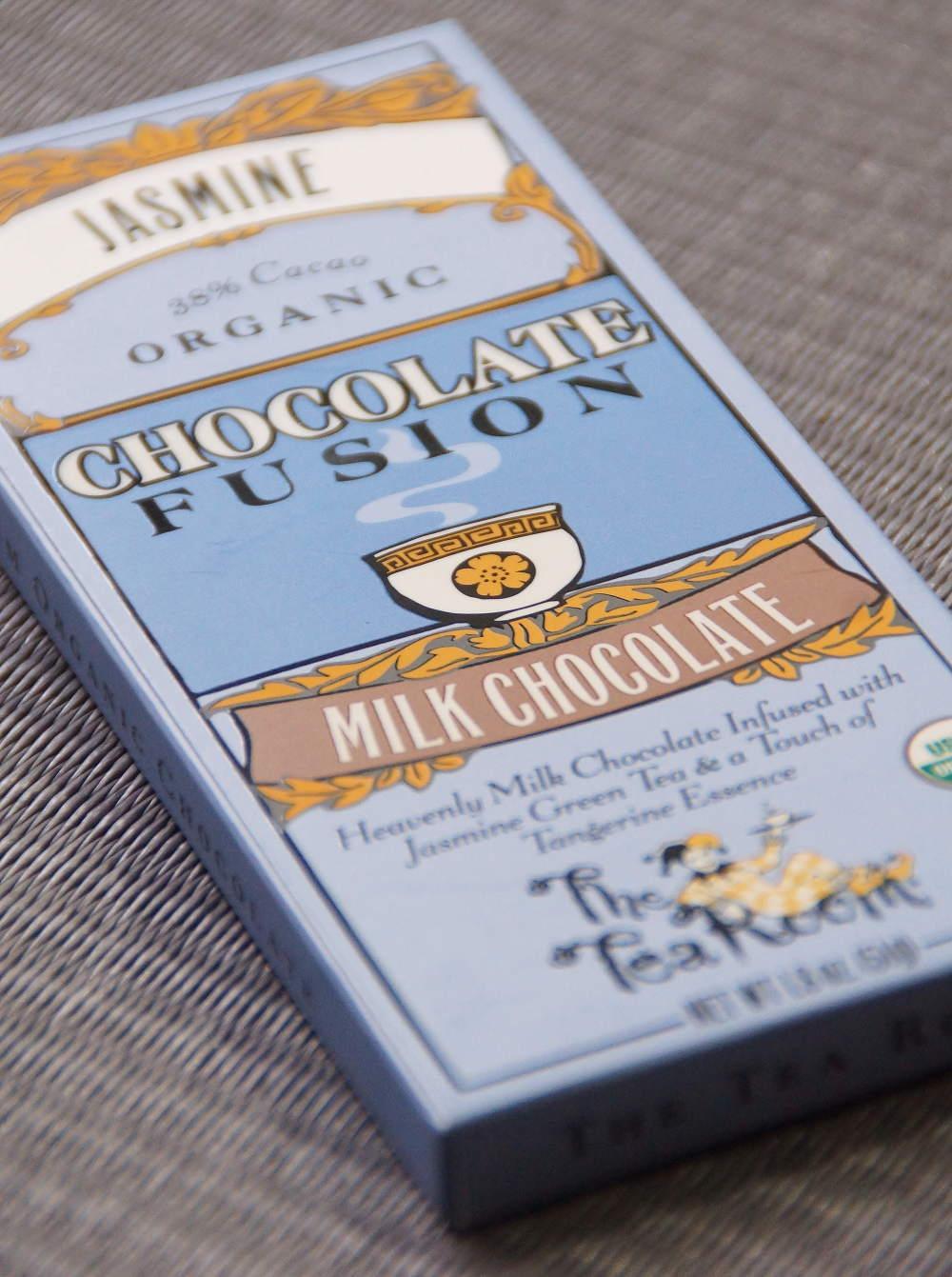 ティールーム・オーガニックチョコレート ジャスミン