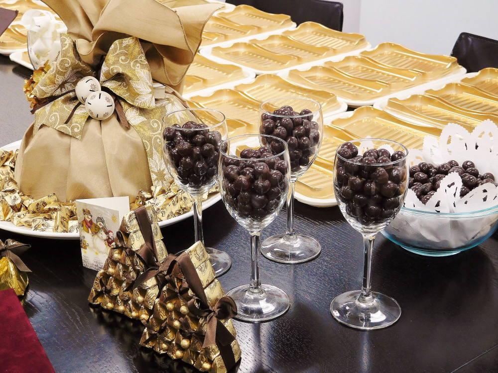 チョコレートの形状の種類