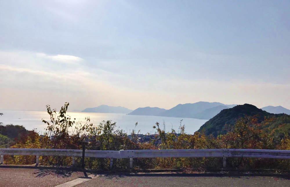 尾道から瀬戸内海の眺め