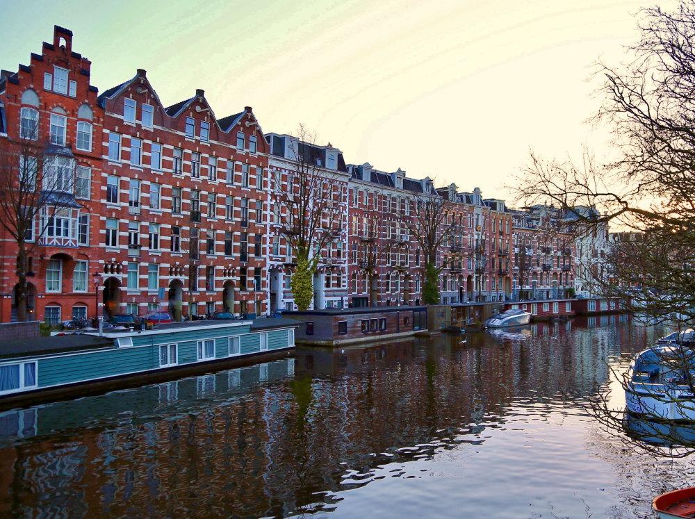 アムステルダム カナルハウス