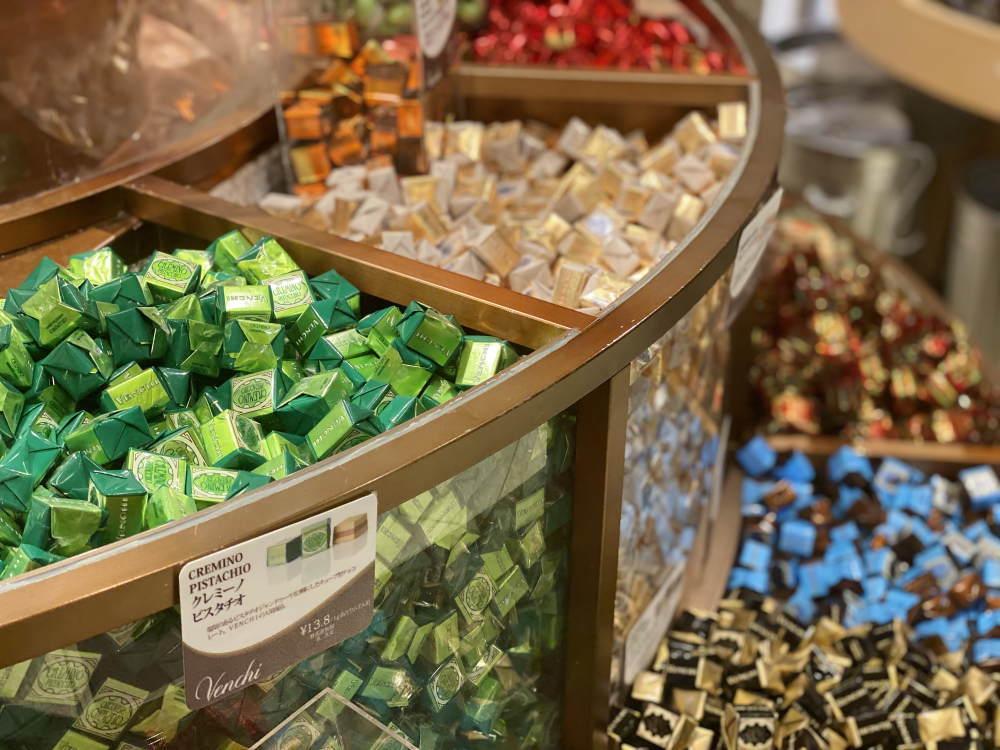 ヴェンキのチョコレートの種類