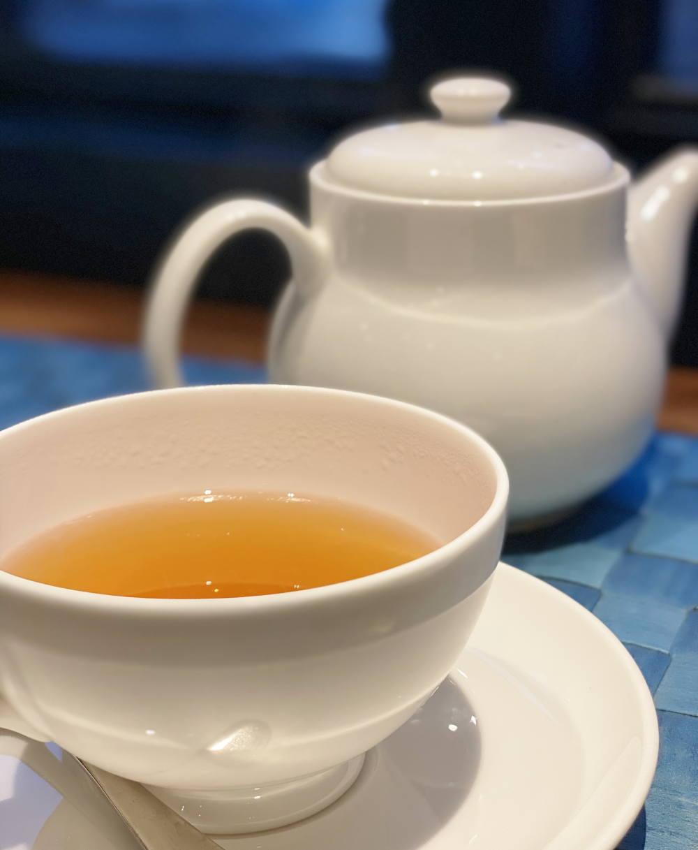 Wボレロのお店でオリジナルブレンドの中国茶を飲んでみた